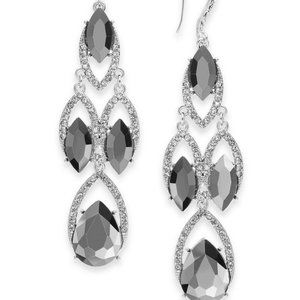 INC International Concepts Crystal-Stone Earrings